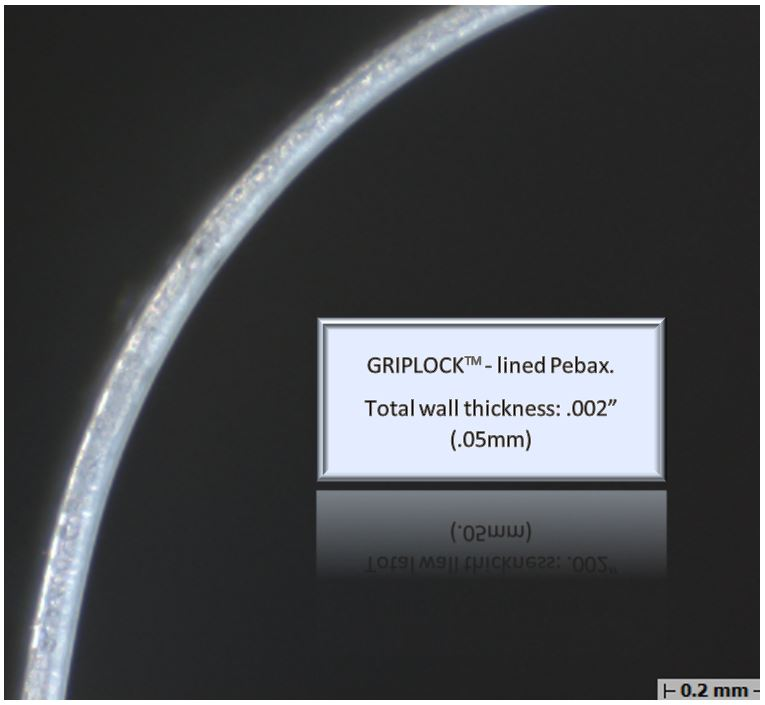 GRIPLOCK-lined Pebax